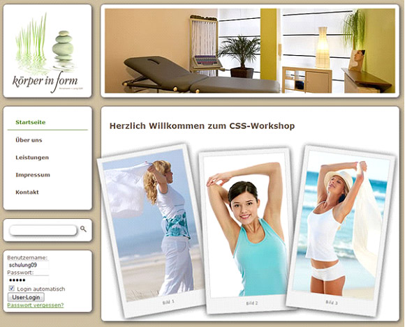 CSS Profi Workshop