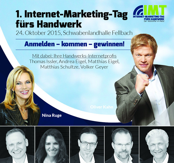 Internet-Marketing-Tag fürs Handwerk in Fellbach